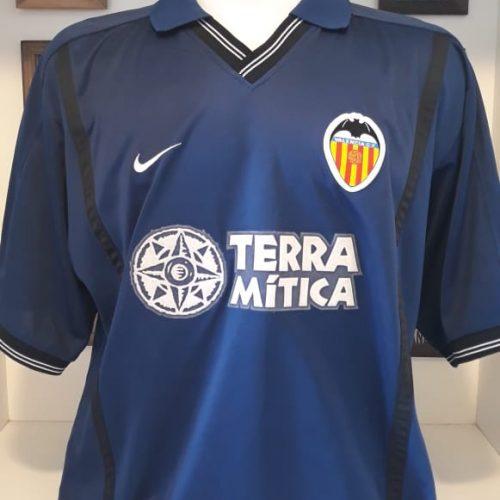 Camisa Valencia Nike 2000 Pablo Aimar
