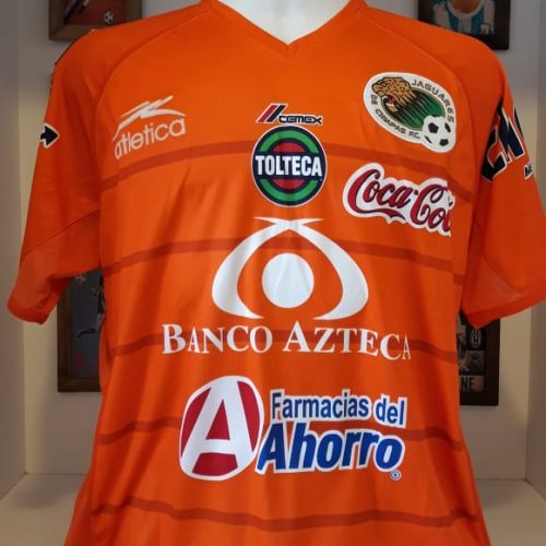 Camisa Jaguares de Chiapas Atletica