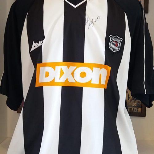 Camisa Grimsby Town Avec 2001 Groves autografada
