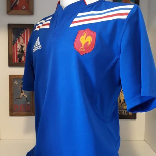 Camisa França Adidas rugby