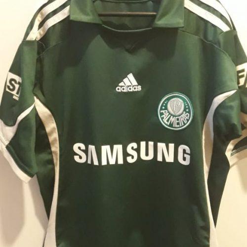 Camisa Palmeiras Adidas 2009 infantil