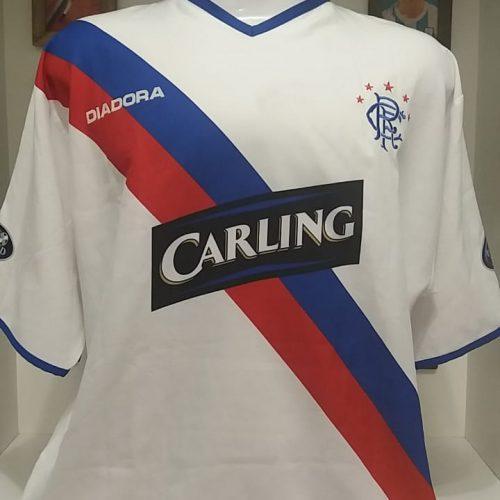 Camisa Rangers Diadora 2004 Boumsong