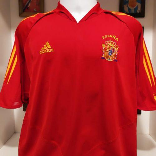 Camisa Espanha Adidas 2003 Raul