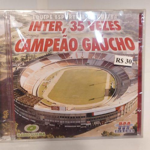 Cd Internacional 35 vezes campeão gaúcho