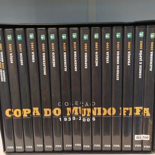 Coleção DVD Copa do Mundo FIFA 1930 a 2006