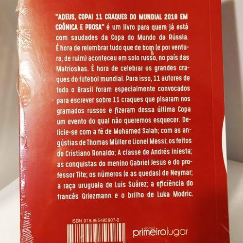 Livro vários autores Adeus, Copa!