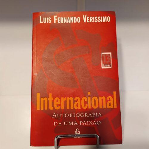 Livro Internacional autobiografia de uma paixão
