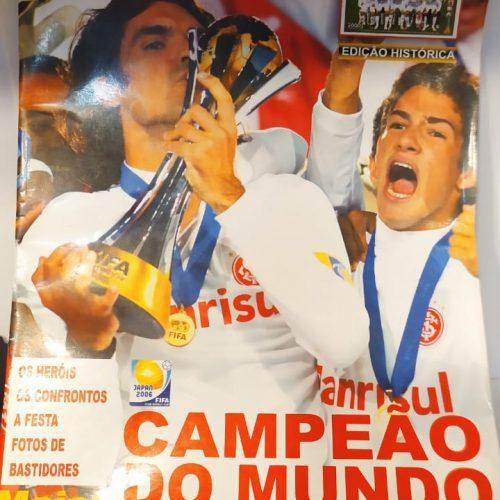 Revista Goool Internacional campeão do mundo 2006