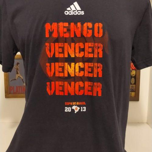 Camisa Flamengo Adidas Copa do Brasil 2013 Mengo vencer vencer