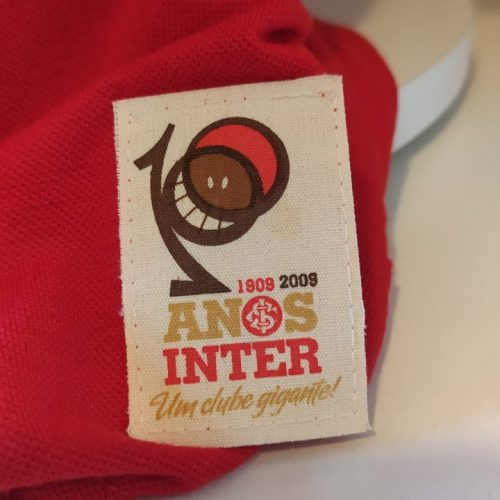 Camisa Internacional polo centenário licenciada