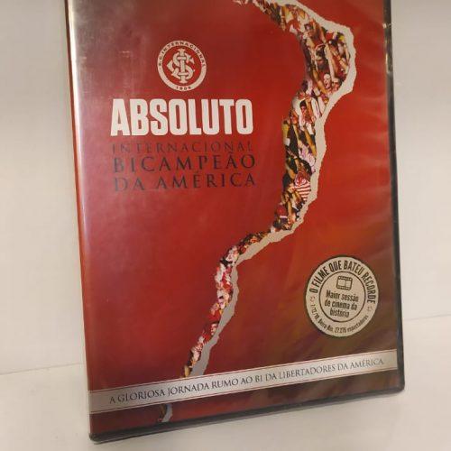 DVD Internacional Absoluto bicampeão da América