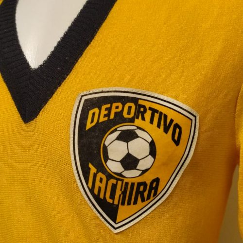 Camisa Deportivo Tachira 1980 mangas longas
