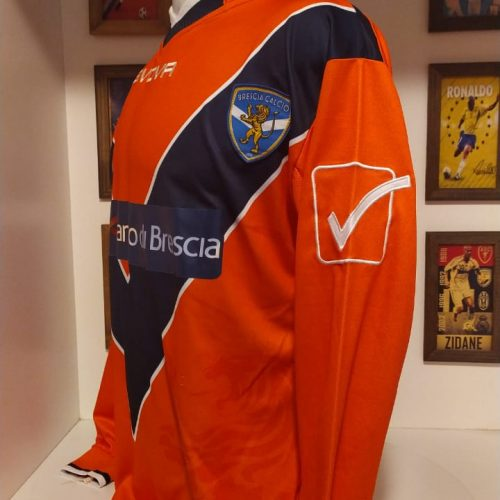 Camisa Brescia Givova Caroppo autografada mangas longas Tim Cup