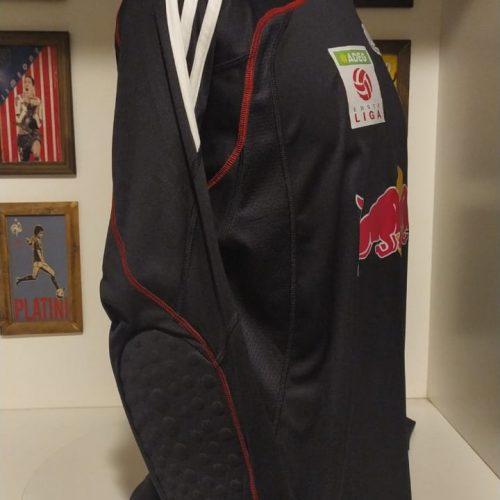 Camisa Red Bull Salzburg Adidas Schober goleiro mangas longas