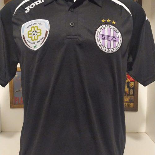 Camisa Sacachispas Joma 2013 preta