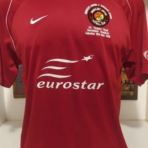 Camisa Ebbsfleet United Nike 2007 FA final