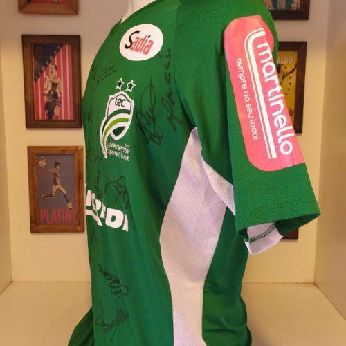 Camisa Luverdense Umbro 2012 autografada