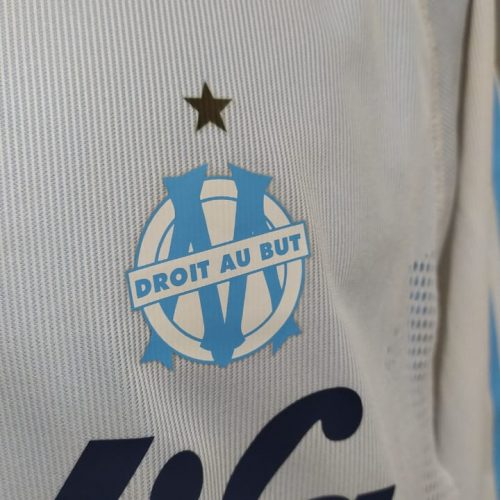 Camisa Olympique Marselha Adidas 2002 Fernandao mangas longas