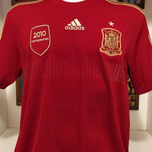 Camisa Espanha Adidas 2010 campeones
