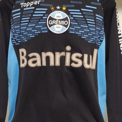 Camisa Grêmio Topper Victor goleiro mangas longas