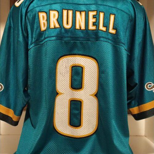 Camisa Jacksonville Jaguars Puma Brunell NFL futebol americano