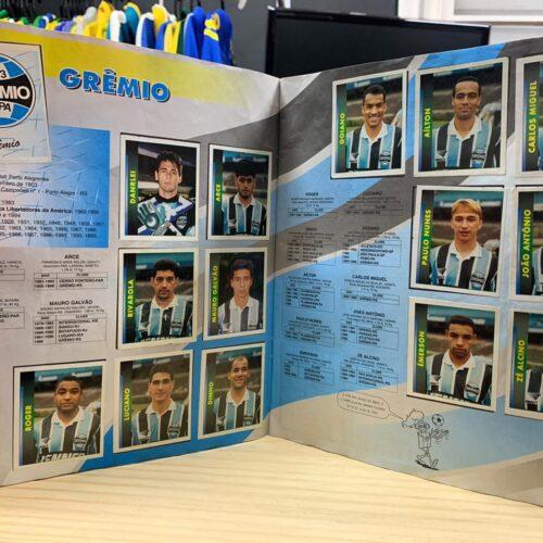 Álbum de figurinhas Campeonato Brasileiro 1996