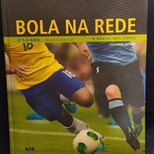 Livro Bola na rede: o Brasil nas Copas