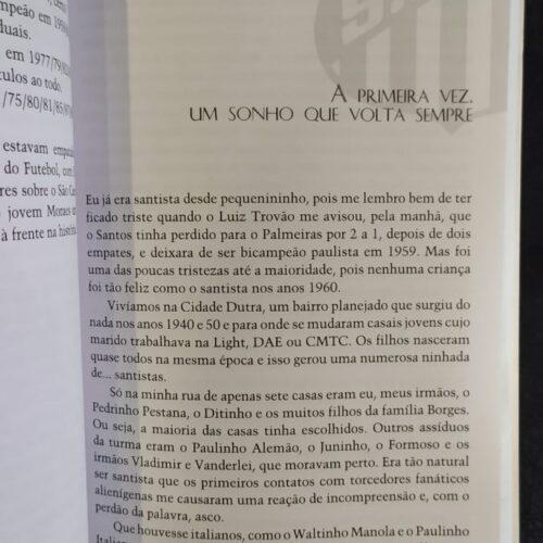Livro Ser santista, um orgulho que nem todos podem ter!