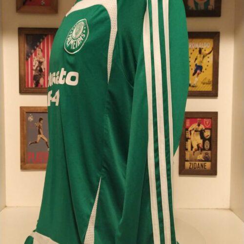 Camisa Palmeiras Adidas 2007 Francis mangas longas