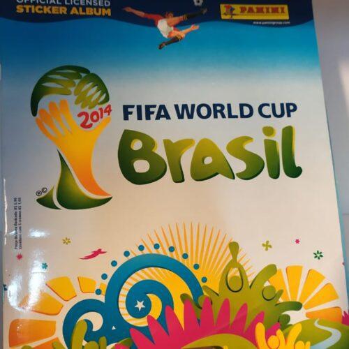 Álbum de figurinhas Copa do Mundo 2014
