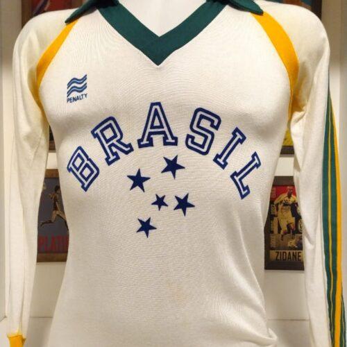 Camisa Brasil Penalty volei mangas longas