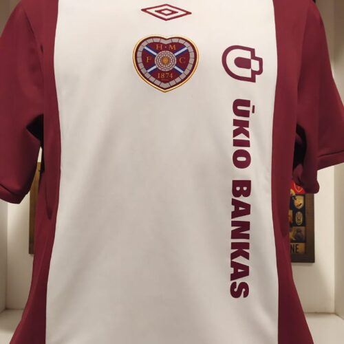 Camisa Hearts of Midlothian Umbro 2010
