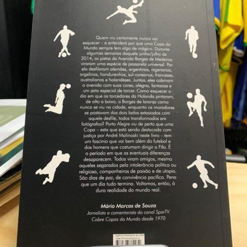Livro Os gigantes estiveram aqui Copa do Mundo 2014