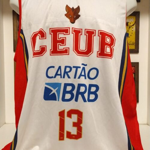 Camisa CEUB Fab Melo basquete