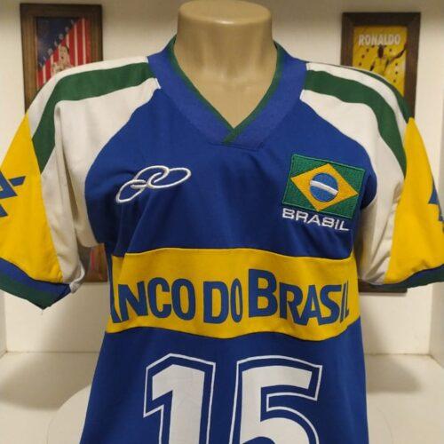 Camisa Brasil Olympikus Fofão autografada volei feminina