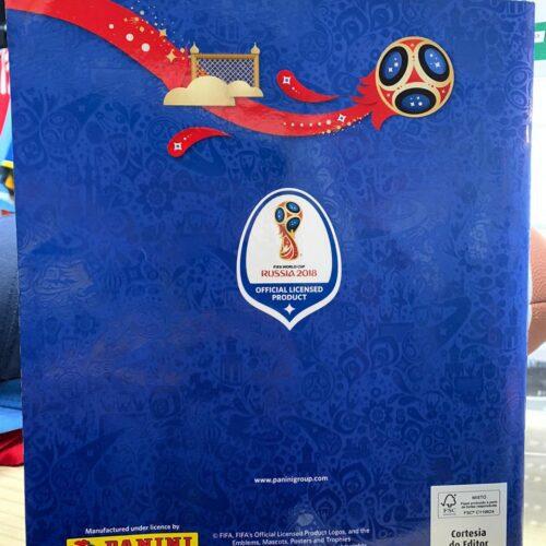 Álbum figurinhas Copa do Mundo 2018