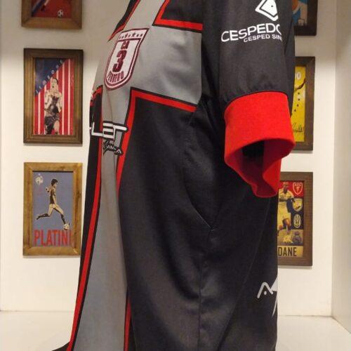Camisa 3 de Febrero Saltarin Rojo