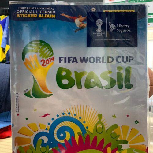 Álbum figurinhas Copa do Mundo 2014
