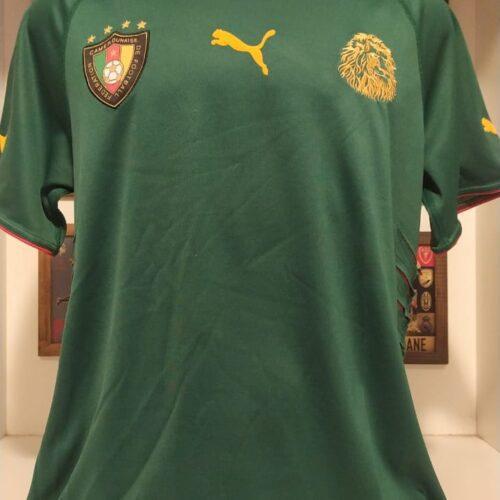 Camisa Camarões Puma 2004