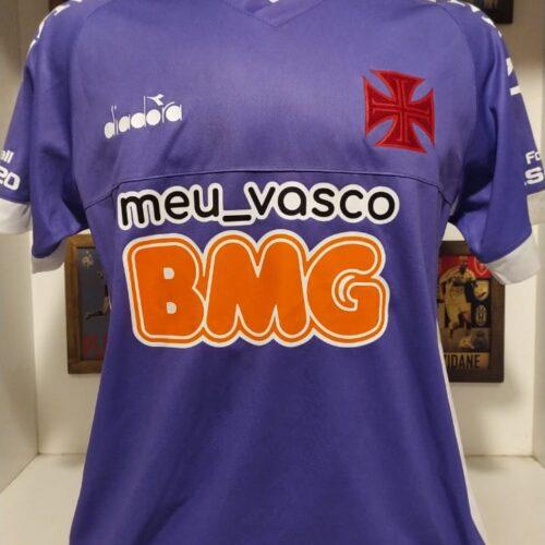 Camisa Vasco da Gama Diadora 2020 Fernando Miguel goleiro homenagem a Silveira