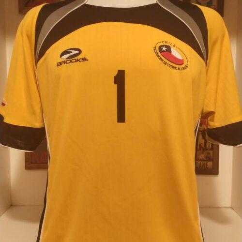 Camisa Chile Brooks Claudio Bravo goleiro