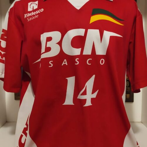 Camisa BCN Osasco Fernanda Venturini volei feminina