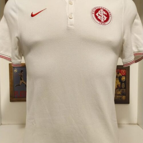 Camisa Internacional Nike polo branca