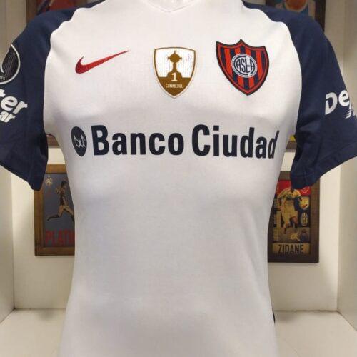 Camisa San Lorenzo Nike 2017 Romagnoli Libertadores da América