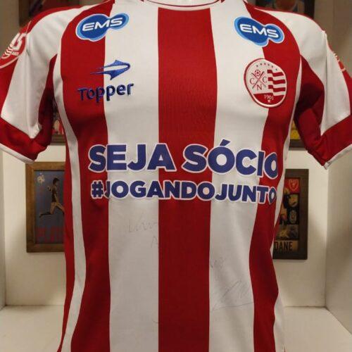 Camisa Náutico Topper Bergson autografada