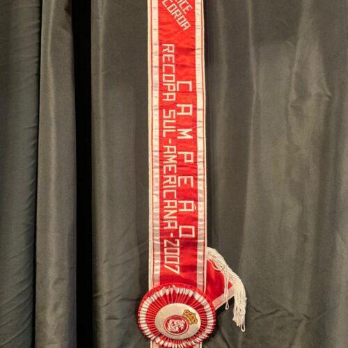 Faixa Internacional campeão Recopa 2007
