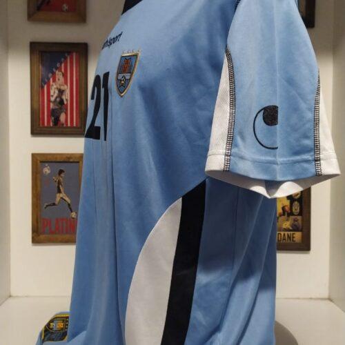 Camisa Uruguai Uhlsport 2008 Forlan