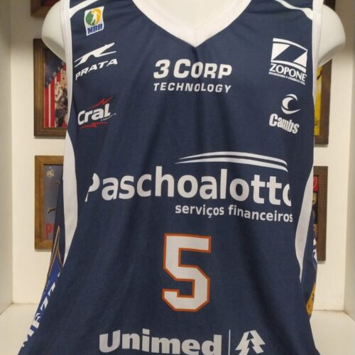 Camisa Bauru Ricardo Fischer basquete