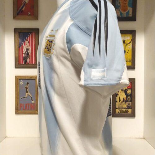Camisa Argentina Adidas 2004 Messi