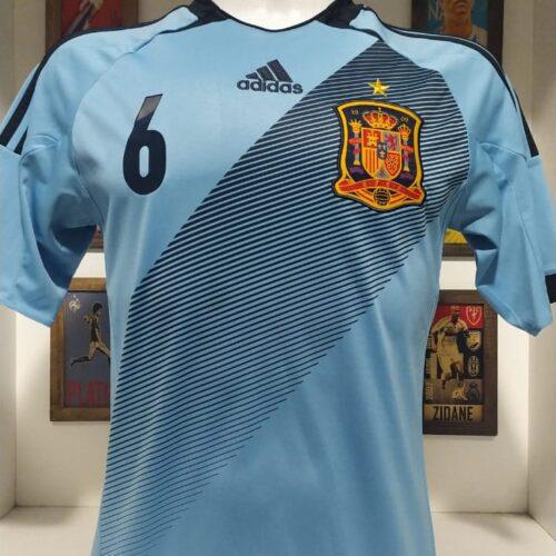Camisa Espanha Adidas 2012 Iniesta
